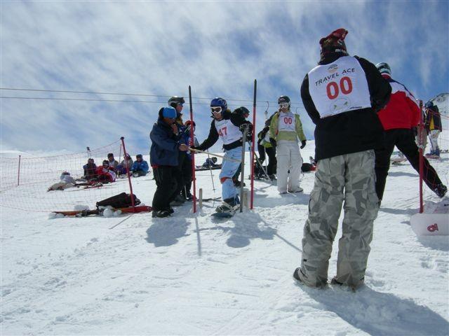 Campeonato de Esqui reuniu dezenas de brasileiros em Chillán
