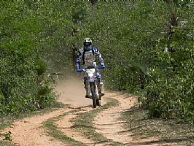 Guilherme Cascaes é tricampeão das motos no Rally Cerapió