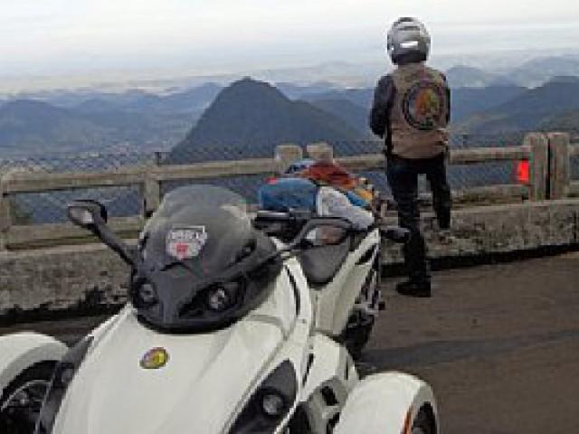 Motociclista vive nova experiência a bordo do Can-Am Spyder