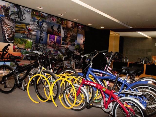 Turistas passaram a procurar as bicicletas
