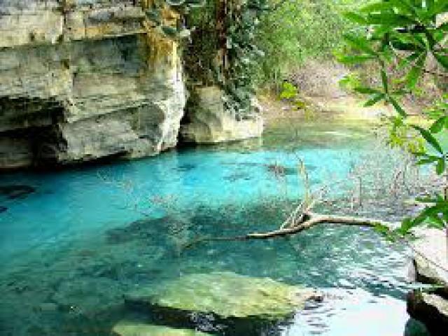 Quando a cor da água é um atrativo turístico