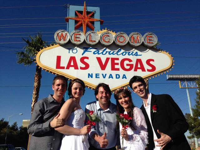 Casamento em Las Vegas atrai cada vez mais brasileiros